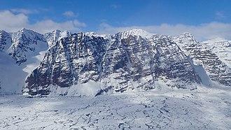 Gunnbjørn Fjeld - Gunnbjørn Fjeld from Kong Christian IV Glacier, 2018