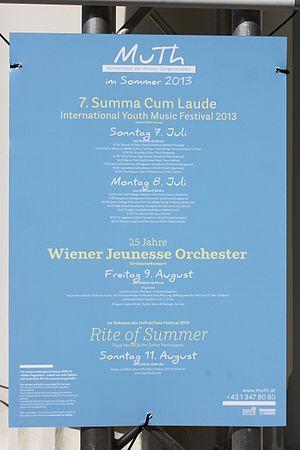 Summa Cum Laude Festival - Image: Mu Th im Sommer 2013