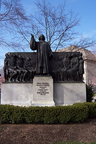 Lutheran Theological Seminary at Philadelphia - Henry Melchior Muhlenberg, (1711-1787) monument