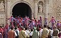 Muixeranga entrando en la Basílica Sant Jaume.jpg