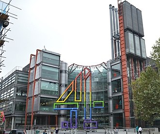 Channel 4 - Channel 4 headquarters, 124 Horseferry Road, London
