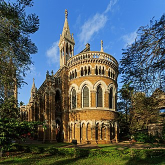 University of Mumbai - Historical building of the University in Mumbai