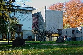 Musée royal de Mariemont - View of the museum's main building