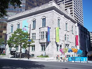 History museum in Quebec, Canada