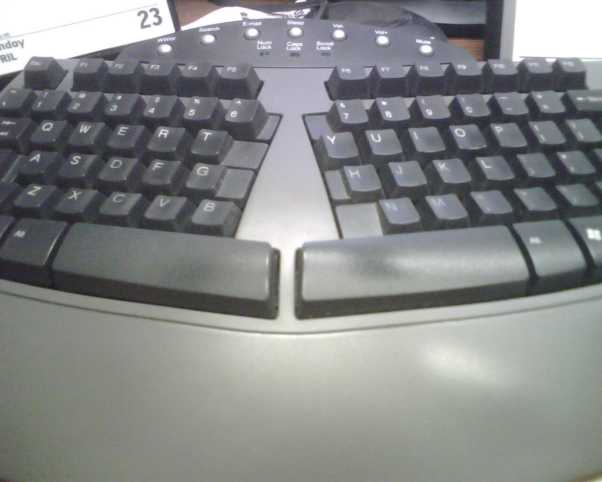 Ergonomic keyboard - Wikipedia