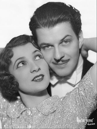 Vinton Hayworth - Vinton as Jack Arnold with Donna Damerel as Marge Minter from the Myrt and Marge radio show, 1935