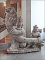 Nâga-balustrade du temple Preah Khan (musée Guimet) (6820334500).jpg