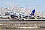 N581UA United Airlines Boeing 757-222 - 5681 (cn 26701-543) (8076329192).jpg