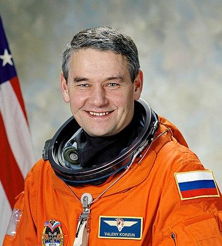 Cosmonaut Valery Korzun, ISS Expedition 5 mission commander, NASA photo (28 Nov 2001) Source: Wikipedia (spaceflight.nasa.gov gone 2021/02/25) 432px-NASA_KorzunGrigorievichValery.jpeg