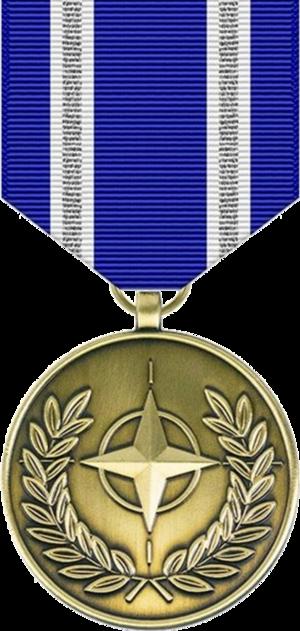 NATO Medal - Image: NATO Medal (Non Article 5)