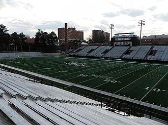 North Carolina Central Eagles - NCCU's O'Kelly-Riddick Stadium home to the MEAC Division I FCS Eagles