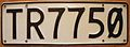 NEW ZEALAND 1995 LICENSE PLATE - Flickr - woody1778a.jpg