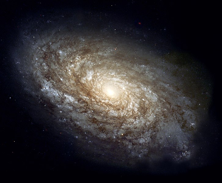 Galaxy NGC 4414 (Wikimedia Commons)