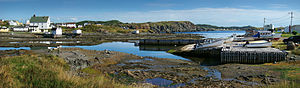 Twillingate - One of the many fishing communities along the scenic coastline