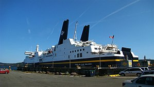 MV Joseph and Clara Smallwood - Image: NL Ferry 4 tango 7174