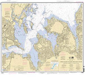 Magnetic declination - Western Long Island Sound, 2008