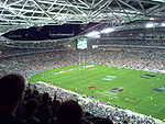 Finale de la National Rugby League 2006 au Stadium Australia de Sydney.