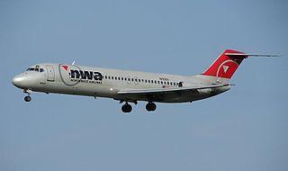 McDonnell Douglas DC-9 Twin-engine, single-aisle jet airliner produced 1965-1982