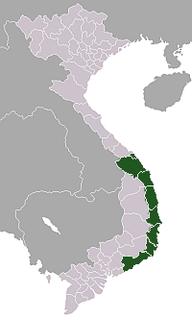 South Central Coast region of Vietnam