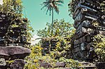 The ruins of Nan Madol on the island of Pohnpei