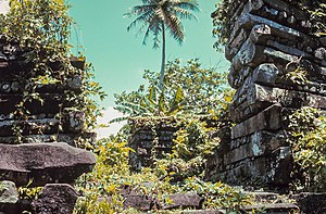National Register of Historic Places listings in the Federated States of Micronesia - Image: Nan madol