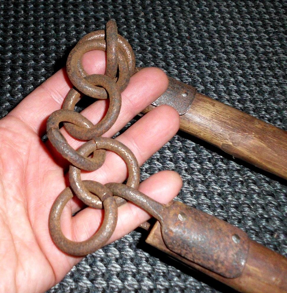 Nanchaku kusari (chain)