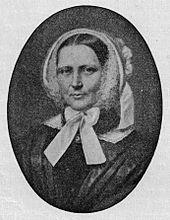 """Arndts zweite Ehefrau """"Nanna"""" Schleiermacher (Quelle: Wikimedia)"""
