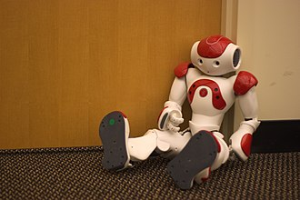 Humanoid robot - Nao is a robot created for companionship. It also competes in the RoboCup soccer championship.
