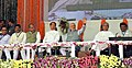 Narendra Modi at the dedication ceremony of the Rourkela Steel Plant to the Nation, in Odisha. The Governor of Odisha, Shri S.C. Jamir, the Chief Minister of Odisha, Shri Naveen Patnaik.jpg