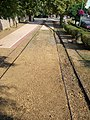 Narrow gauge railtracks. Matra State Forest Railways. - Gyöngyös, Hungary.JPG