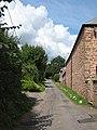 Narrow lane to Bollitree - geograph.org.uk - 921545.jpg