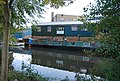 Narrowboat by the scout hut - geograph.org.uk - 1541141.jpg