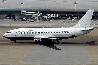 Nasair - A Nasair Boeing 737-200.