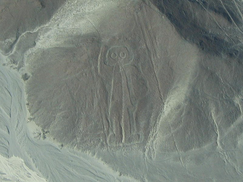 Astronaut in Nazca Lines , Nazca's God was alien, Aliens are our God, Is god Alien, Is god UFO, Aliens are god