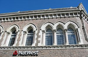 NatWest - The NatWest branch at St Helier, capital of Jersey, Channel Islands, built in 1873.