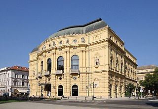 National Theatre of Szeged theater in Szeged, Hungary