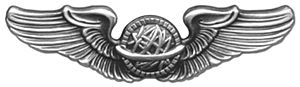 U.S. Air Force aeronautical rating - Navigator wings, 1942–1951