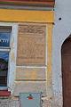 Nechanice pamětní deska na staré radnici.jpg