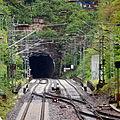 Neckargemünd - Eisenbahnstrecke S1 mit Tunnel.JPG