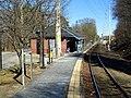 Needham Junction station facing east, March 2016.JPG