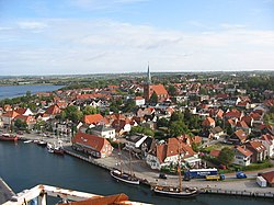 Harbour and old town of Neustadt