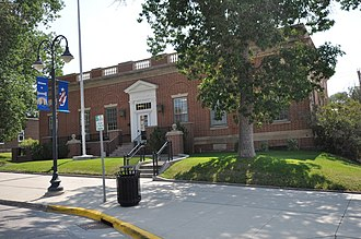 National Register of Historic Places listings in Weston County, Wyoming - Image: Newcastle WY Post Office