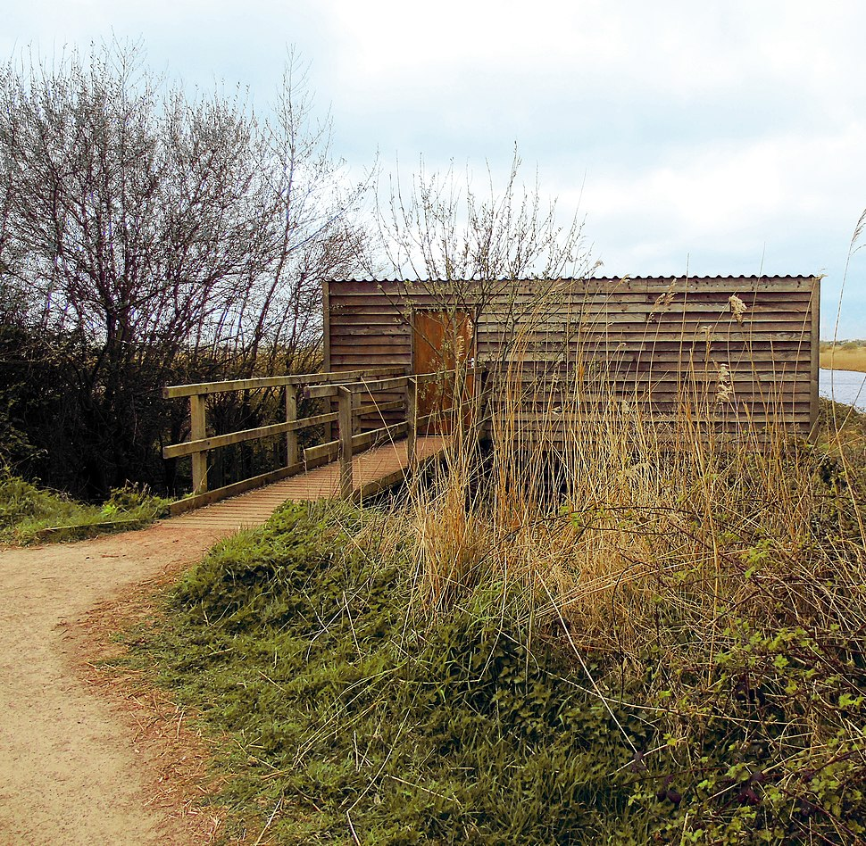 Newport Wetlands RSPB Reserve Bird Hide