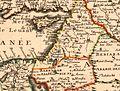 Nicolas Sanson. Estats de l'Empire du Grand Seigneur des Turqs ou Sultan des Ottomans. 1654. Iudée.jpg