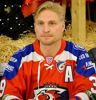 Niko Kapanen Finnish ice hockey player