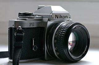 Nikon FG camera model