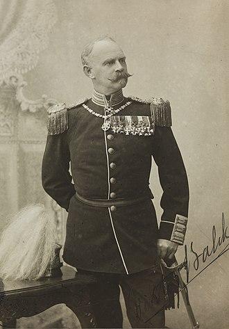 Viktor Balck - Balck in uniform.