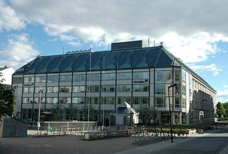 Christiania Bank - Kreditkassen's headquarters in Oslo