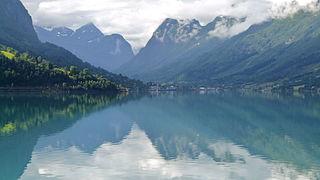 Nordfjord District in Sogn og Fjordane, Norway