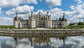 North-west facade of the Castle of Chambord 09.jpg